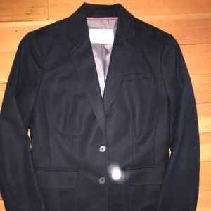 Banana Republic classic black fitted blazer